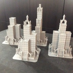 Download 3D printing files TITANSTRUCTURE DARK FUTURE 8MM SCALE BUILDINGS FOR EPIC TITANICUS. Combo Pack, Kal_Foxx