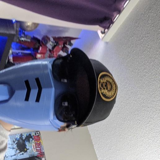 Télécharger fichier imprimante 3D gratuit Casquette de masque COVID-19, édition Gundam RX-78, Spazticus