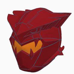 Capture.JPG Télécharger fichier STL Power Rangers Beast Morphers Go Buster Cybervillain Blaze Helmet • Plan imprimable en 3D, TAFKARDesign