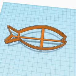 Download STL file Cookie cutter fish, A_Alex