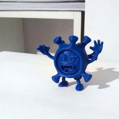 Coronavirus1 foto.jpeg Download STL file Coronavirus • Object to 3D print, ljv_2500