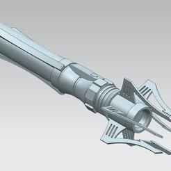 Imprimir en 3D Modelo 3D del sable de luz Venom Sith, Geektuel