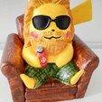 Descargar Modelos 3D para imprimir gratis Pikachu X Thor (Pokemon/Thor), awker28
