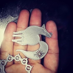 Download free 3D printer designs Ban symbol pendant, AFZD