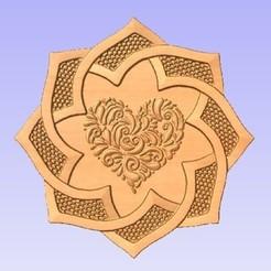 Spiral.jpg Télécharger fichier STL gratuit Panneau mural • Plan pour imprimante 3D, cults00