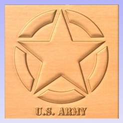 Download free 3D printing designs Army Emblem, cults00