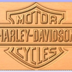 Descargar archivo 3D gratis Señal de Harley, cults00