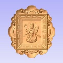 Descargar modelo 3D gratis Diosa hindú, cults00