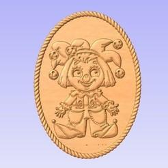 Happy.jpg Download free STL file Happy Clown • 3D printer model, cults00