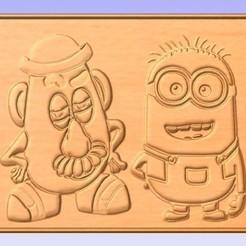 Descargar modelo 3D gratis Sr. Potato Head, cults00