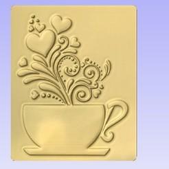 Descargar archivos 3D gratis Una taza de lo mejor, cults00