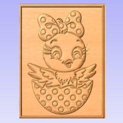 C.jpg Download free STL file Chick • 3D printing model, cults00