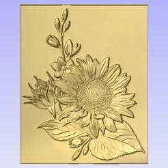 Sun.jpg Download free STL file Sunflower • 3D print design, cults00