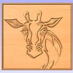G.jpg Download free STL file Giraffe • 3D printing template, cults00