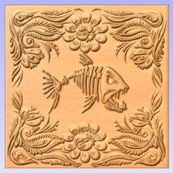 Download free 3D printing files Fish Panel, cults00