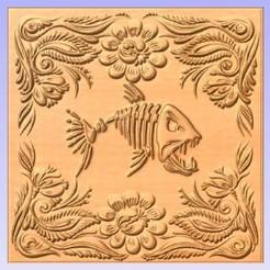 Descargar archivo 3D gratis Panel de peces, cults00