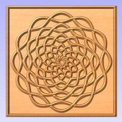 Mandala1.jpg Download free STL file Mandala Twist • 3D printing object, cults00