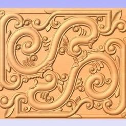 Scrolled.jpg Download free STL file Scroll Pattern • Design to 3D print, cults00