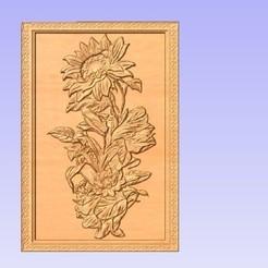 Sunflower.jpg Download free STL file Sunflower • 3D print design, cults00