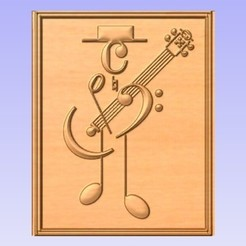 MM.jpg Download free STL file Music Man • Design to 3D print, cults00