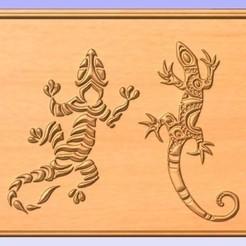 Liz.jpg Download free STL file Lizards • Design to 3D print, cults00