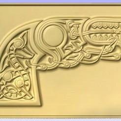 Imprimir en 3D gratis Pistola, cults00