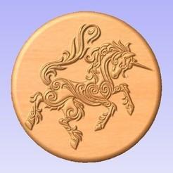 Descargar modelos 3D gratis Unicornio, cults00