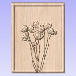 Descargar archivo 3D gratis Flores, cults00
