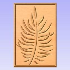 Download free 3D print files Leaf Wall Panel, cults00