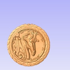 H1.jpg Download free STL file Horse • 3D printable template, cults00