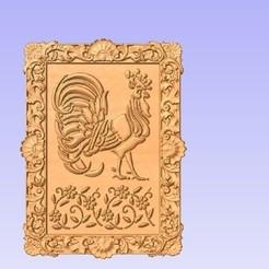 R1.jpg Télécharger fichier STL gratuit Coq • Modèle à imprimer en 3D, cults00