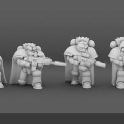XeFh2Ymw1K4.jpg Download free STL file Galactic Crusaders  - Plate Armour KillTeam (smaller heads) • 3D printing model, mildseven