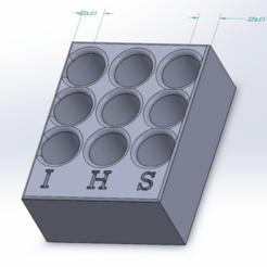 Télécharger fichier STL gratuit 510 Porte-cartouches • Objet imprimable en 3D, TheAwkwardBanana