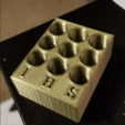 Download free STL file 510 Cartridge Holder • 3D printing object, TheAwkwardBanana