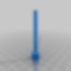 TamperV1_v0.stl Download free STL file Arizer Solo Bowl Tamper • 3D printer template, TheAwkwardBanana