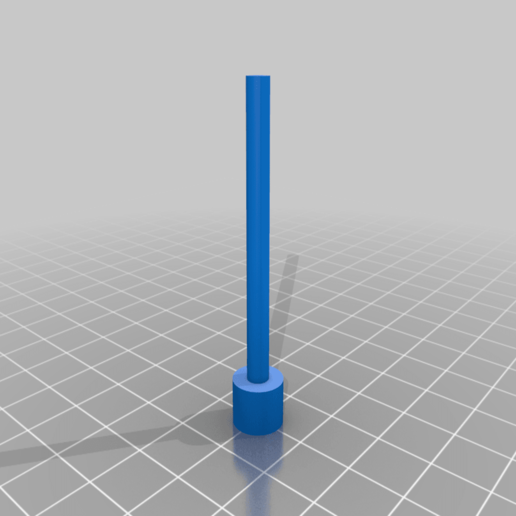 TamperV1_v0.png Download free STL file Arizer Solo Bowl Tamper • 3D printer template, TheAwkwardBanana
