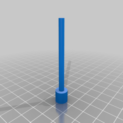 TamperV1_v0.png Download free STL file Arizer Solo Bowl Tamper • 3D printer template, TheAwkwardBanana