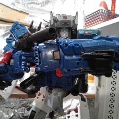 Imprimir en 3D Addons para Transformers Titans Return Fortress Maximus, halohuynh