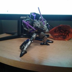 Download STL Weapons Set for Transformers Night Bird, halohuynh