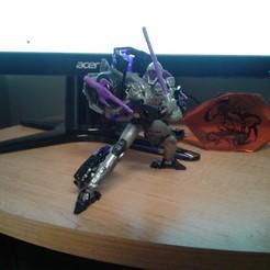 Télécharger fichier 3D Armes prêtes pour Transformers Night Bird, halohuynh
