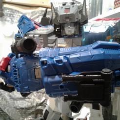 Télécharger modèle 3D Transformateurs Titans Retours Titans Fortress Maximus Blaster Fortress, halohuynh