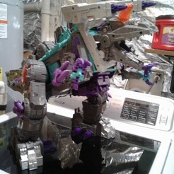 Download 3D printer templates Base Mode Addons for Titans Return Trypticon, halohuynh