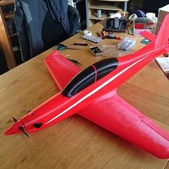 DSC_1909_sq.jpg Download free STL file Pilatus PC-21 RC Plane • 3D print template, KHANtech