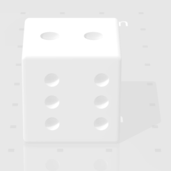 Télécharger objet 3D gratuit dice, proCADdesigner