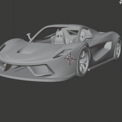 4.PNG Download STL file La Ferrari • 3D print model, proCADdesigner