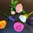 Download 3D printer designs Adam's 3D Printable Rose ©, adamantiz