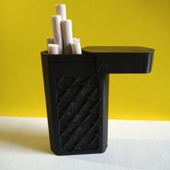 IMG_20201015_111330007.jpg Télécharger fichier STL Etui à cigarettes poignard • Plan pour imprimante 3D, Polygon3D