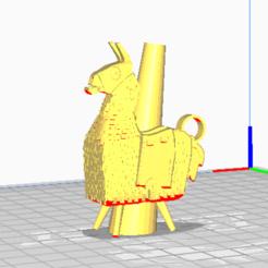 Descargar modelos 3D Boquilla Hookah FortnitLlama, torium
