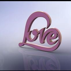liefde rond2.JPG Télécharger fichier STL Autocollant d'amour • Design pour imprimante 3D, miranda77mr