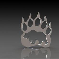 Download 3D printer templates Bear claw decoration, miranda77mr